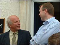Greg Dyke and Simon Clifford