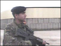 Private Jonathan Kitulagoda