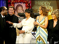 Oprah Winfrey's 50th birthday show