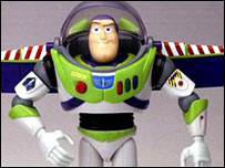 Buzz Lightyear en Toy Story