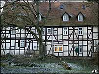 The Meiwes house in Rotenburg