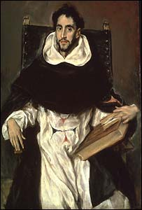El Greco's Fray Hortensio Félix Paravicino, 1609, Museum of Fine Arts, Boston