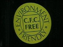 CFC free logo, BBC