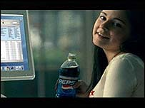 Pepsi/ iTunes ads