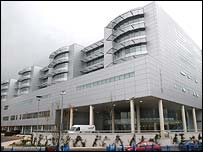 The nurse is understood to work at the Royal Victoria Hospital in Belfast