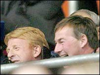 Gordon Strachan and Rupert Lowe