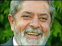 Luiz Inacio Lula de Silva, presidente de Brasil