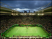 View of Rod Laver Arena