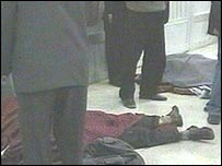 Scene of Irbil blast