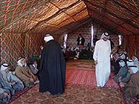 Tribal court in Basra