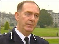 Chief constable Andrew Cameron