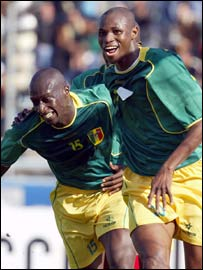 Abdoulaye Demba (left) and Dramane Traore