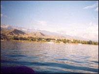 Lake Issyk-Gul, Kyrgyzstan