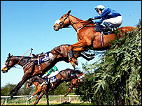 The Grand National takes place at Aintree on 3 April