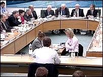 Tony Blair faces senior MPs on the Commons liaison committee