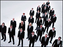 Finland's Mieskuoro Huutajat choir (picture by Jaani Fohr)