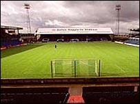 Oldham's Boundary Park stadium