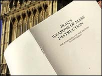 The government's Iraq weapons dossier