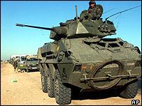 Spanish tank in Iraq