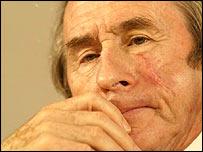 Former racing driver Jackie Stewart