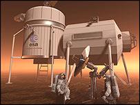Mars base, Esa
