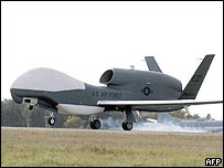 US unmanned aerial vehicle Global Hawk