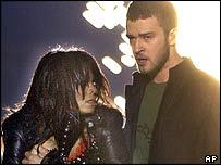 Janet Jackson and Justin Timberlake