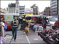 Charlerot street market