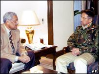 Dr A Q Khan met President Musharraf in Rawalpindi