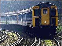 Slam door train