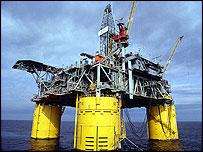 Shell drilling platform