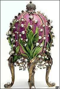 Lily of the Valley egg from the Forbes Collection