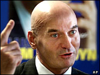 Dutch politician Pim Fortuyn, who was shot dead in 2002