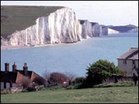 Seven sisters, Sussex coast