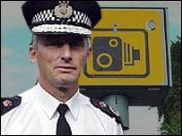 Richard Brunstrom and a speed camera