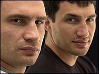 Vitali (left) and Wladimir Klitschko