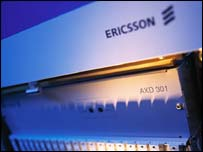 Ericsson network equipment