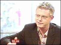 Director Stephen Daldry live on BBC Breakfast