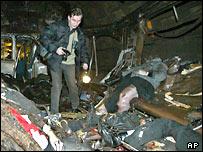 Погибшие на месте взрыва