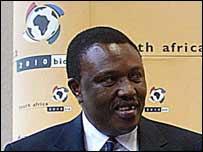 Irvin Khoza former vice-president of Safa