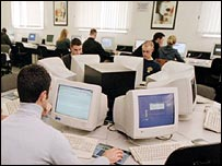 students using pcs