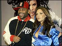Victoria Beckham with Damon Dash