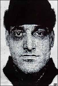 Photofit issued by Moscow police