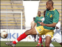 Frederic Kanoute scored his fourth goal in three games