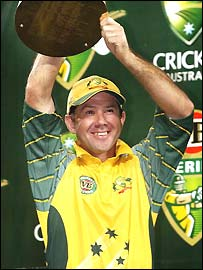 Ponting lifts another one-day trophy
