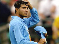 Ganguly's side played four Tests and 10 one-dayers in Australia
