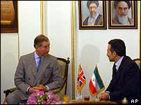 Prince Charles in Iran