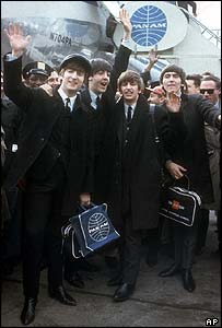 The Beatles at Idlewild airport