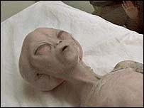Инопланетянин, якобы найденный в Нью-Мексико