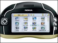 Nokia 7700 media player, Nokia